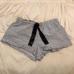 Other - Seersucker PJ Shorts- XL